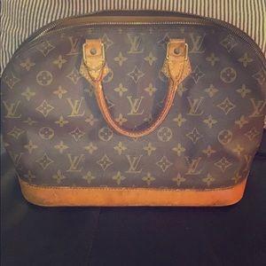 100% Authentic Louis Vuitton Monogram Alma